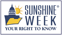 Image of Sunshine Week -- Your Right to Know